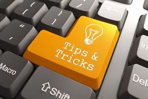 Keyboard tips and tricks key